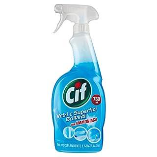 Cif–Reiniger, Glas und Bright Oberflächen mit Ammoniak, ohne Flecken–G750ML