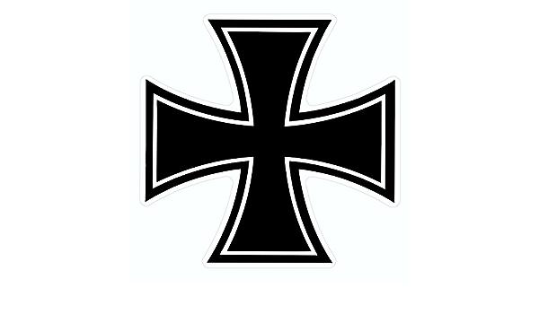 Carstyling Xxl Aufkleber Eisernes Kreuz Dimension 75 X 75 Mm Schneller Versand Innerhalb 24 Stunden Küche Haushalt