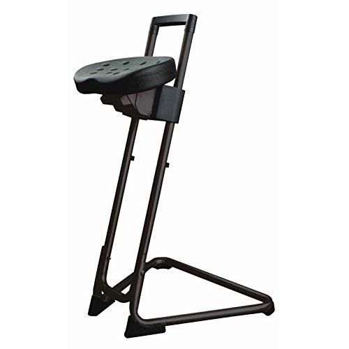 """Stehhilfe""""Die Standhafte"""", Integralschaum-Sitz, stufenlos verstellbar, Sitzneigungsverstellung, schwarz"""