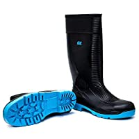 Ox Safety Wellington Boot New Style Heavy Duty Safety Boot Steel Toe Cap Wellies New Style