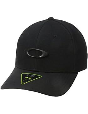 Oakley Tincan gorra Worn Olive/Graphic, color Black/Carbon Fiber, tamaño S/M