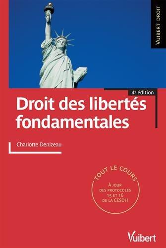 Droit des libertés fondamentales - Tout le cours