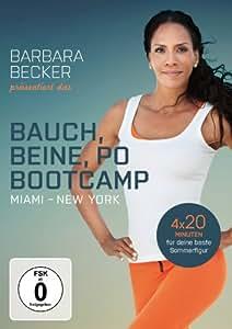 Barbara Becker präsentiert das Bauch, Beine, Po-Bootcamp Miami / New York