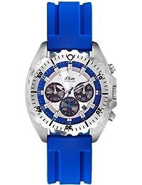 s.Oliver Herren-Uhren Chronograph Quarz SO-2083-PC