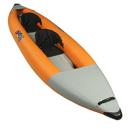 Blueborn Boat SKX 200 Drop Stitch - 2 Personen Touren Kajak mit Hochdruck Boden 365x90 cm (Tragfähigkeit 215 kg)