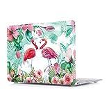 RQTX Hülle Für Apple MacBook Air (Old) 13,3 Zoll Modell A1466/A1369 Laptop Computer Zubehör Plastik Muster Druck Schutz Hart Cover Tasche,Flamingo B
