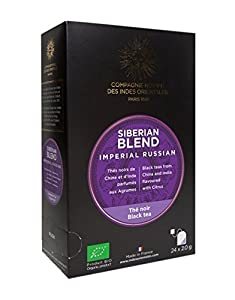 Thé Siberian Blend - Imperial Russian (Boîte 24 sachets)