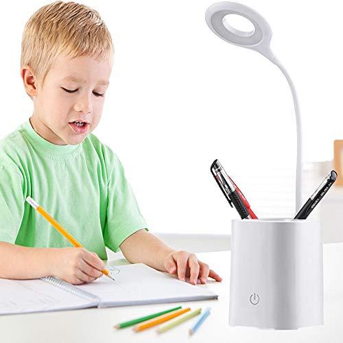 HyAiderTech Lámpara Escritorio LED Portalápices