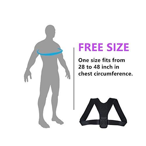 Zoom IMG-1 regolabile della postura correttore clavicola