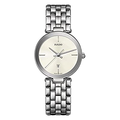 Rado Women's Florence 28mm Steel Bracelet & Case Quartz Analog Watch R48874013
