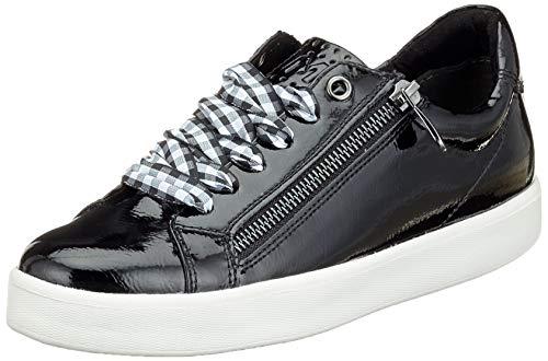 MARCO TOZZI Damen 23741-31 Sneaker, Schwarz (Black Patent 018), 40 EU