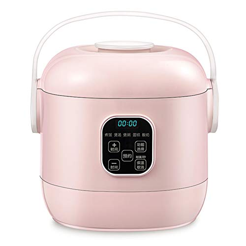 5 In 1 Reiskocher Multifunktions Reis Kochen, 24-Stunden-Preset, Antihaft-Pfanne, 2L, 400W