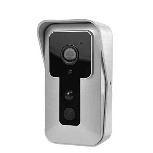 Focus Wireless Wifi Türklingel Video-Kamera-Telefon-Türklingel-Ring Intercom Nachtsicht Zwei-Wege-Sprachsteuerung Sicherheits-Nocken (Nocken 4 W/)