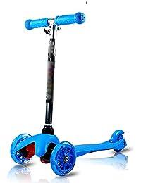 bc77c36bd QFFL huabanche Scooter de Tres Ruedas Surf para niños Flash del Coche  Scooter para niños 2