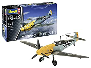Revell- Messerschmitt Bf109 F-2 Kit Modelo, Multicolor (03893)