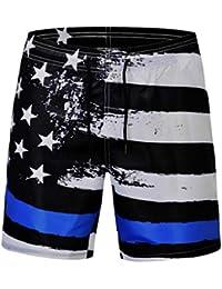Abbigliamento sportivo MagiDeal Pantaloncini Boxer Surf Bicchierini Nuoto Shorts Sport da Spiaggia per Uomo