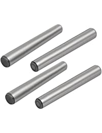 Tradico® Carbon Steel GB117 120mm Length 10mm Small End Diameter Taper Pin 4pcs
