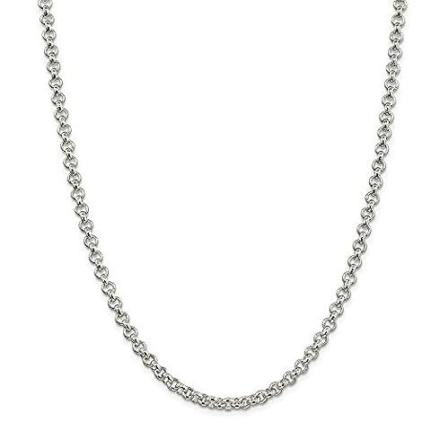 Sterling Armband Silber 5,0 mm Kette