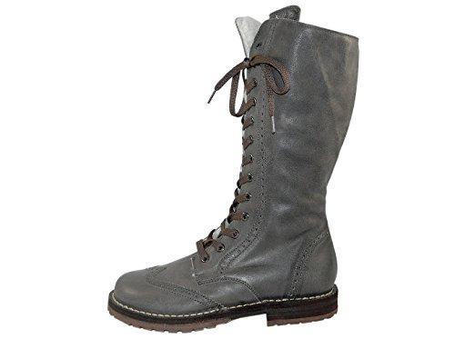 Zecchino d'oro boots 06–622/a, bottes fille - Grau (dunkelgrau 2813)
