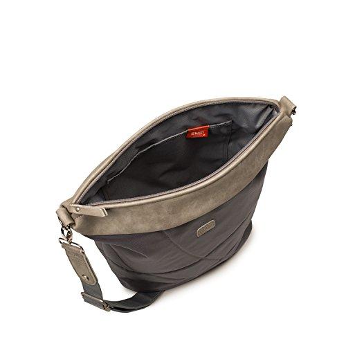Zwei  Zwei Ferdi Fe12 Handtasche Versandkostenfrei Bei G, Sac pour femme à porter à l'épaule stone