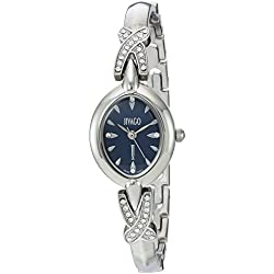 Jivago Women's 'Via' Quartz Stainless Steel Casual Watch, Color:Silver-Toned (Model: JV3611)