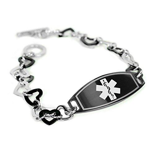 myiddr-collier-arbre-ecrou-allergiques-bracelet-didentite-carte-didentite-et-coeurs-en-acier-noir-da