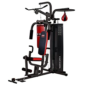 Body Sculpture Multi Gym with Punching Bag & Speed Ball