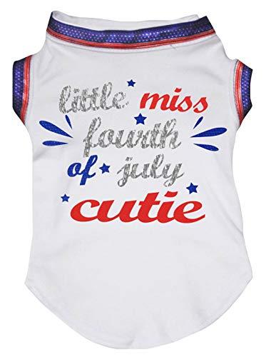 Petitebelle Little Miss Fourth of Juli, Weiß