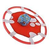 SM SunniMix Gioco di Tiro E Sacca di Sabbia Cattura Il Giocattolo Interattivo tra Genitori E Figli - Red Footprint 40cm
