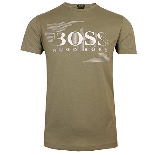 Boss Green Shirt 1 Logo T-Shirt Kaki Clair 50383429