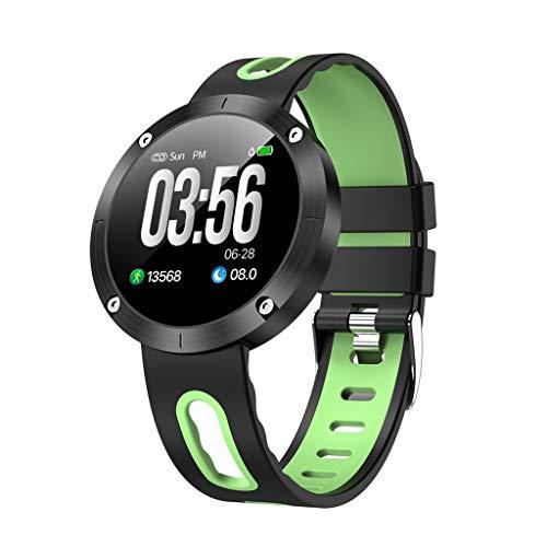 letter54 DM58PLUS Analog-Digital Smartwatch Männer Fitness Armband Android Bluetooth Armbanduhr Frauen Automatik Uhren Wasserdicht Weiblich Pulsmesser Sport Intelligente Smart Watch Digital Uhr