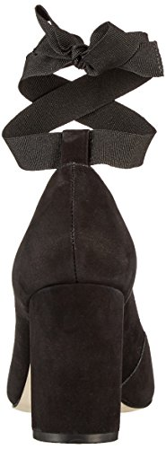 Buffalo London ZS 7166-16 Nobuck, Scarpe con Tacco Donna Nero (Black 01)
