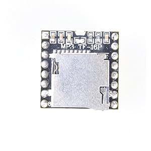 Uni Mini MP3-Player Modul mit vereinfacht Ausgang Lautsprecher für Arduino