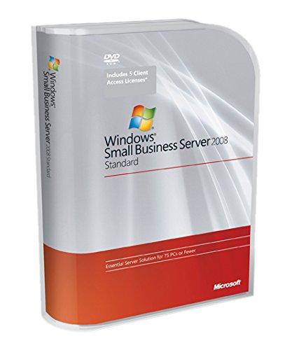 Systembuilder Windows Small Business Server Standard 2008 SP2 1pk DSP OEI DVD 1-4CPU 5 Clt