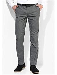 Inspire Premium Light Grey Slim Fit Formal Trouser For Men