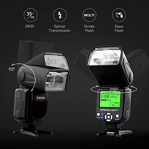 300w Flash Strobe Luce Studio Ombrello wireless per DSLR Canon Nikon Sony
