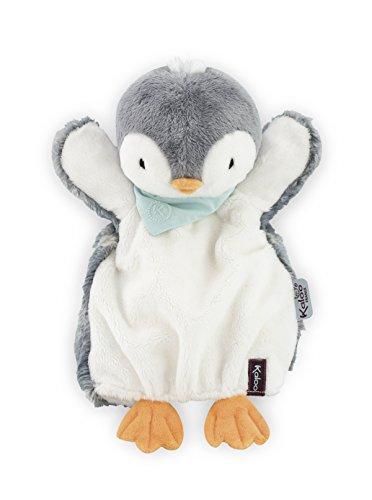 Kaloo K969295 - Les Amis Handpuppe Schmusetuch, 30 cm, Pépit Pinguin