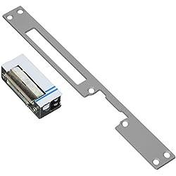 Cofan 31300250 - Abrepuertas eléctrico reversible (250 mm) color gris