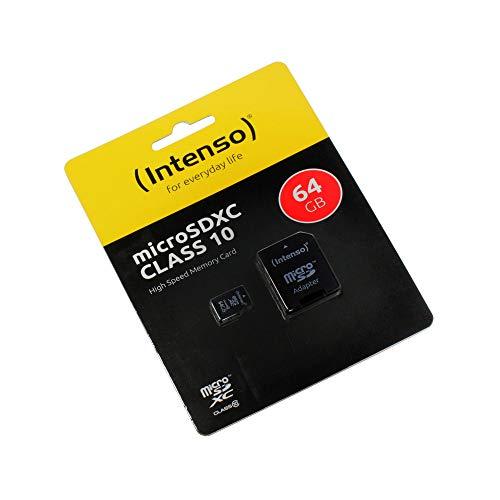 Cubot Z100 Pro, 64GB Speicherkarte Micro SD, microSDXC, Class 10, High Speed, SD Adapter, Schnelle Schreib- und Lesegeschwindigkeit
