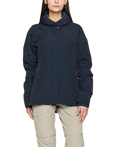 Fjällräven Damen High Coast Padded Outdoorjacke, Navy, XS
