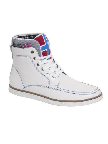Bottes Nebulus, Vintage en cuir PU, Chaussures d'été, Chaussures Blanc - Men - white