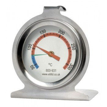 Stainless Steel Oven Thermometer with 50mm Dial