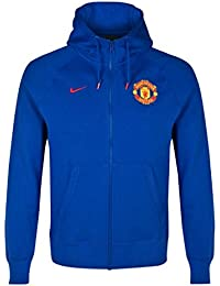 Nike aW77 veste pour homme manchester united authentic sweat-shirt à capuche en polaire