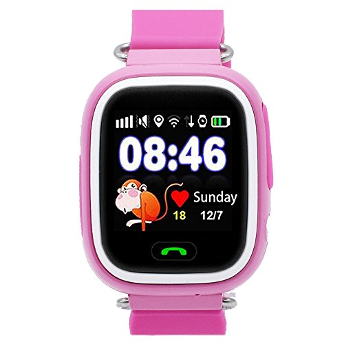 Kids GPS Smart Watch, 9Tong Childrens Smartwatch GPS Tracker GSM Sim Touch...