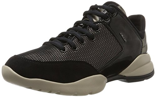 Geox Herren D Sfinge A Sneaker Schwarz (castagna / Nero)