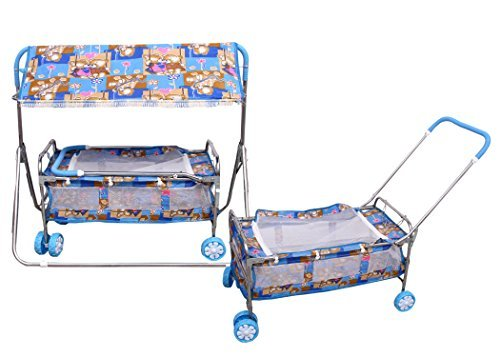 BABY CRIB AND CRADLE 2 in 1