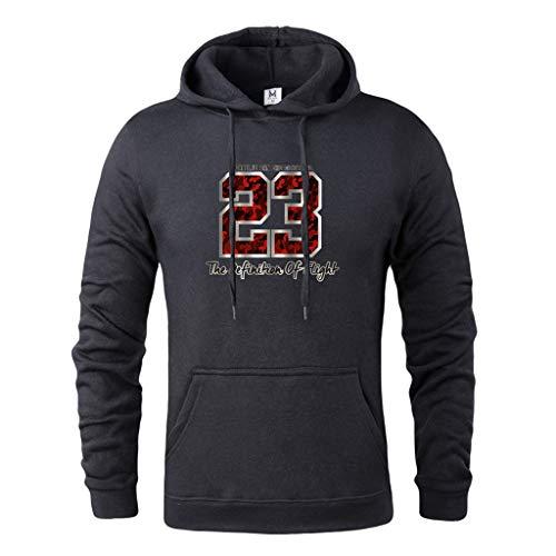 Jordan Fleece Hoody (JORDAN 23 Print Marke Kleidung Männer Mode Streetwear Fleece Hoodie Hochwertigen Mens Sweatshirts Männliche Jugend Pullover)