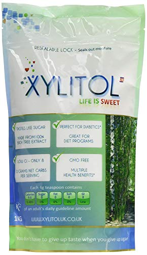 Xylitol Sweetener 1 kg (Pack of 6)
