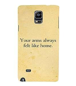PrintVisa Designer Back Case Cover for Samsung Galaxy Note 4 :: Samsung Galaxy Note 4 N910G :: Samsung Galaxy Note 4 N910F N910K/N910L/N910S N910C N910Fd N910Fq N910H N910G N910U N910W8 (Missu Quote)