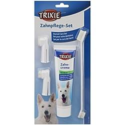 Trixie 2561 Zahnpflege Set, Hund, 1 Set